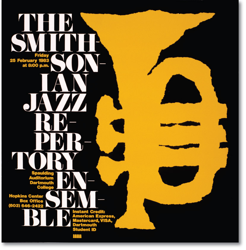 Smithsonian Jazz Poster