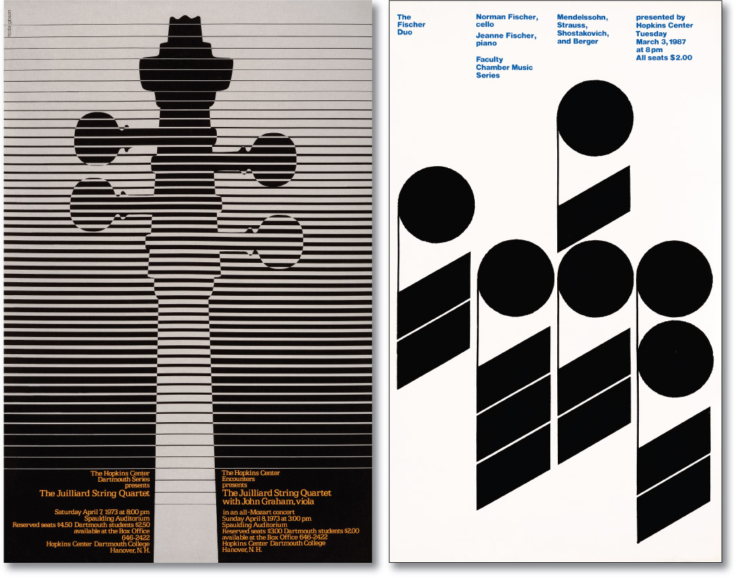 Juilliard and Fischer Duo Posters