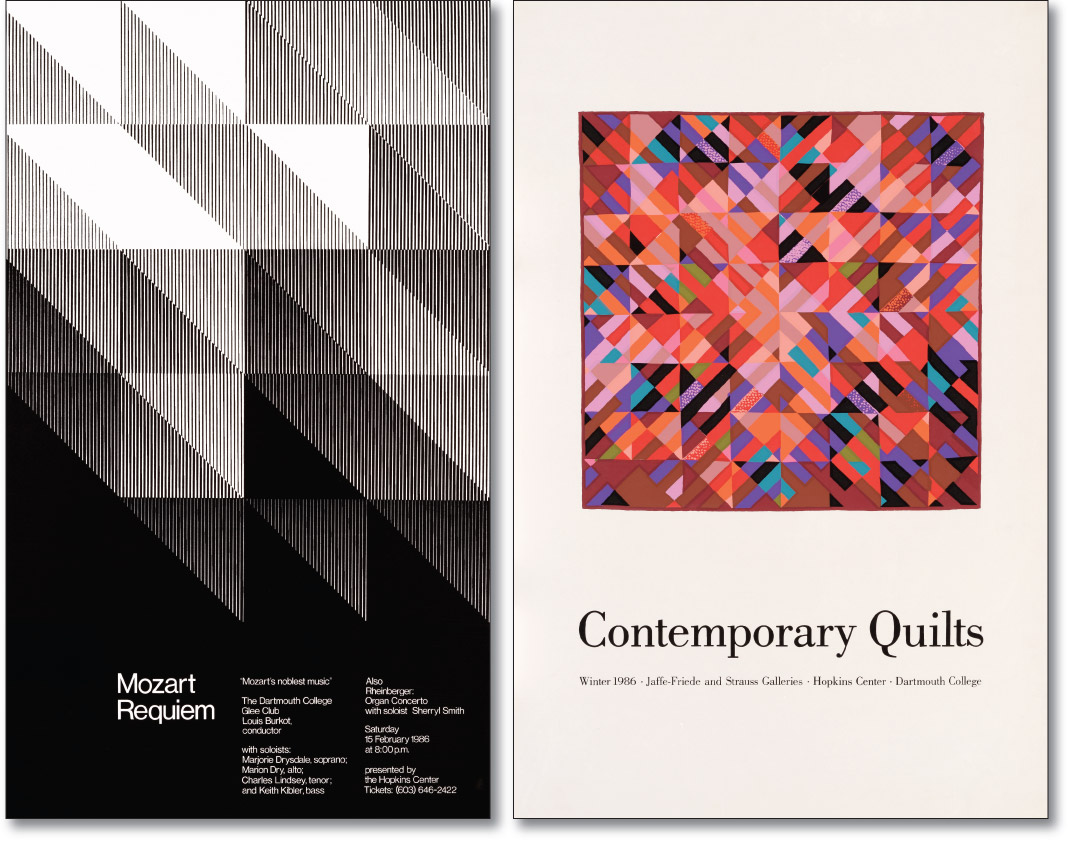 Mozart Requiem and Quilts Posters