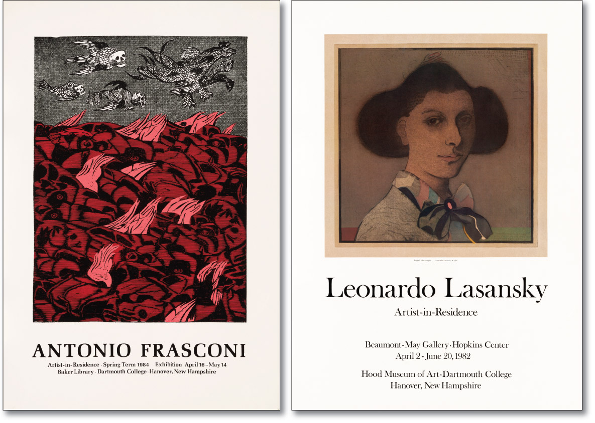 Frasconi and Lasansky Posters