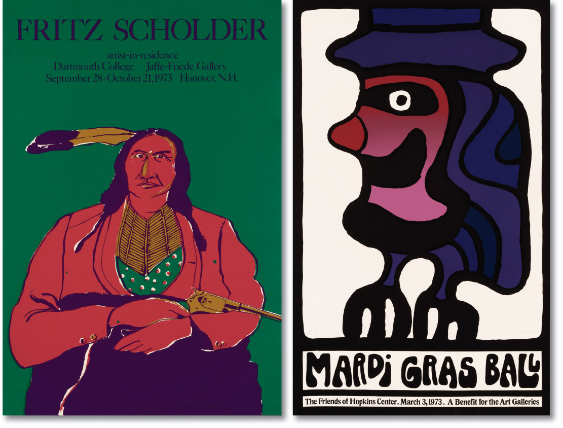 Scholder and Lenica Posters