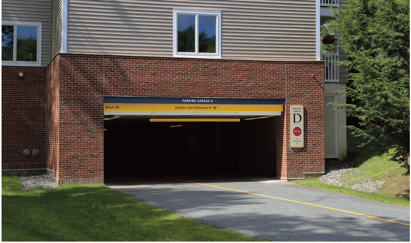 Kendal at Hanover Garage D Signs