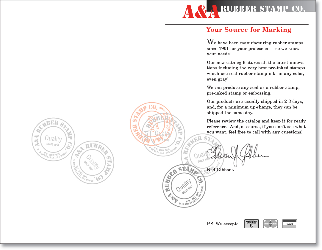 A&A Marking Systems Product Catalog