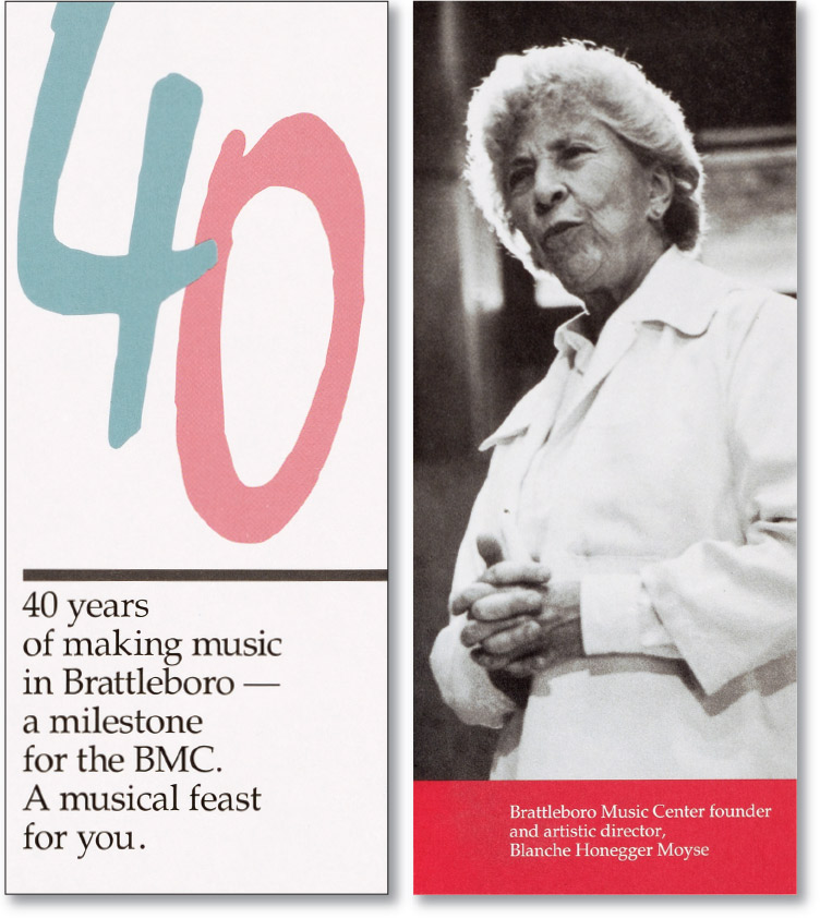 40th Anniversary Brochure