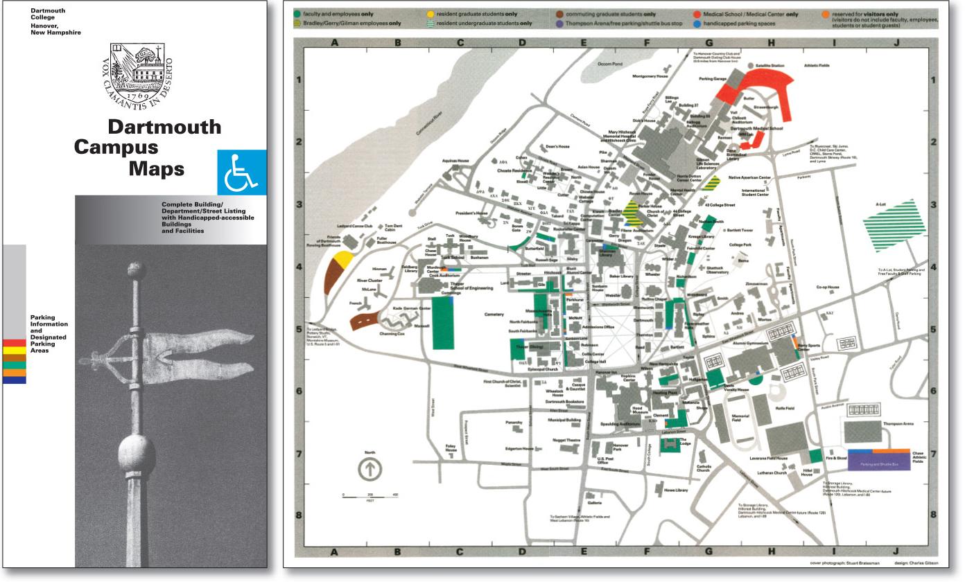 Dartmouth Campus Maps