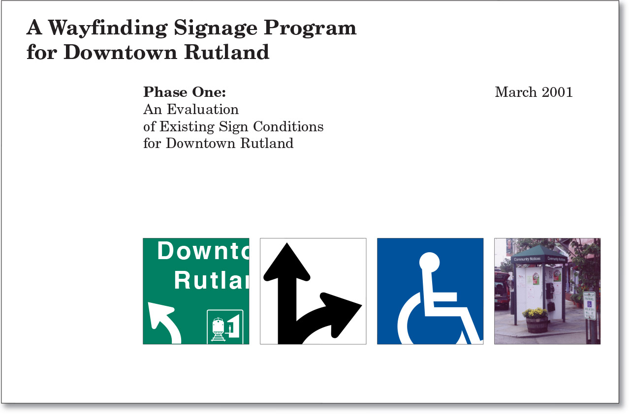 Wayfinding Signage Program for Downtown Rutland