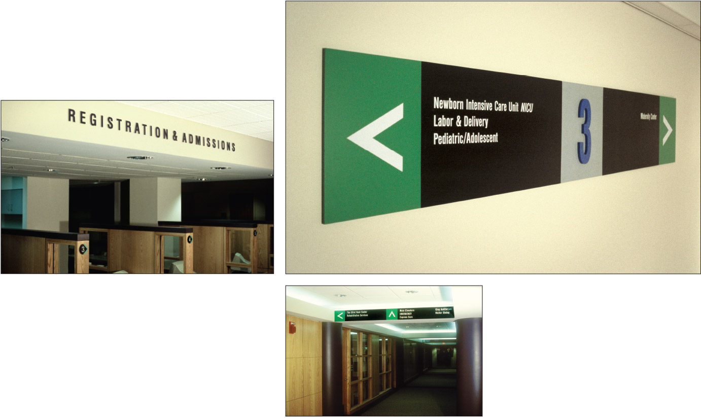 Elliot Hospital Campus and Interior Wayfinding Program
