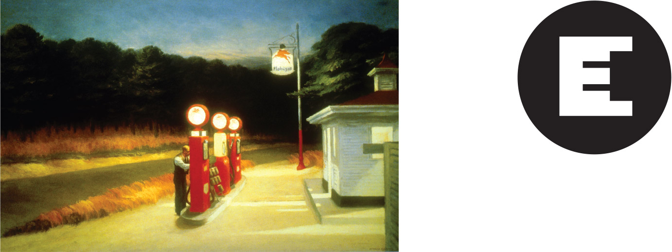 Edward Hopper's GAS