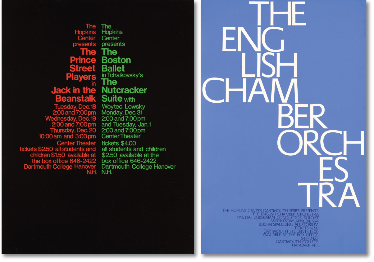 Christmas and English Chamber Posters