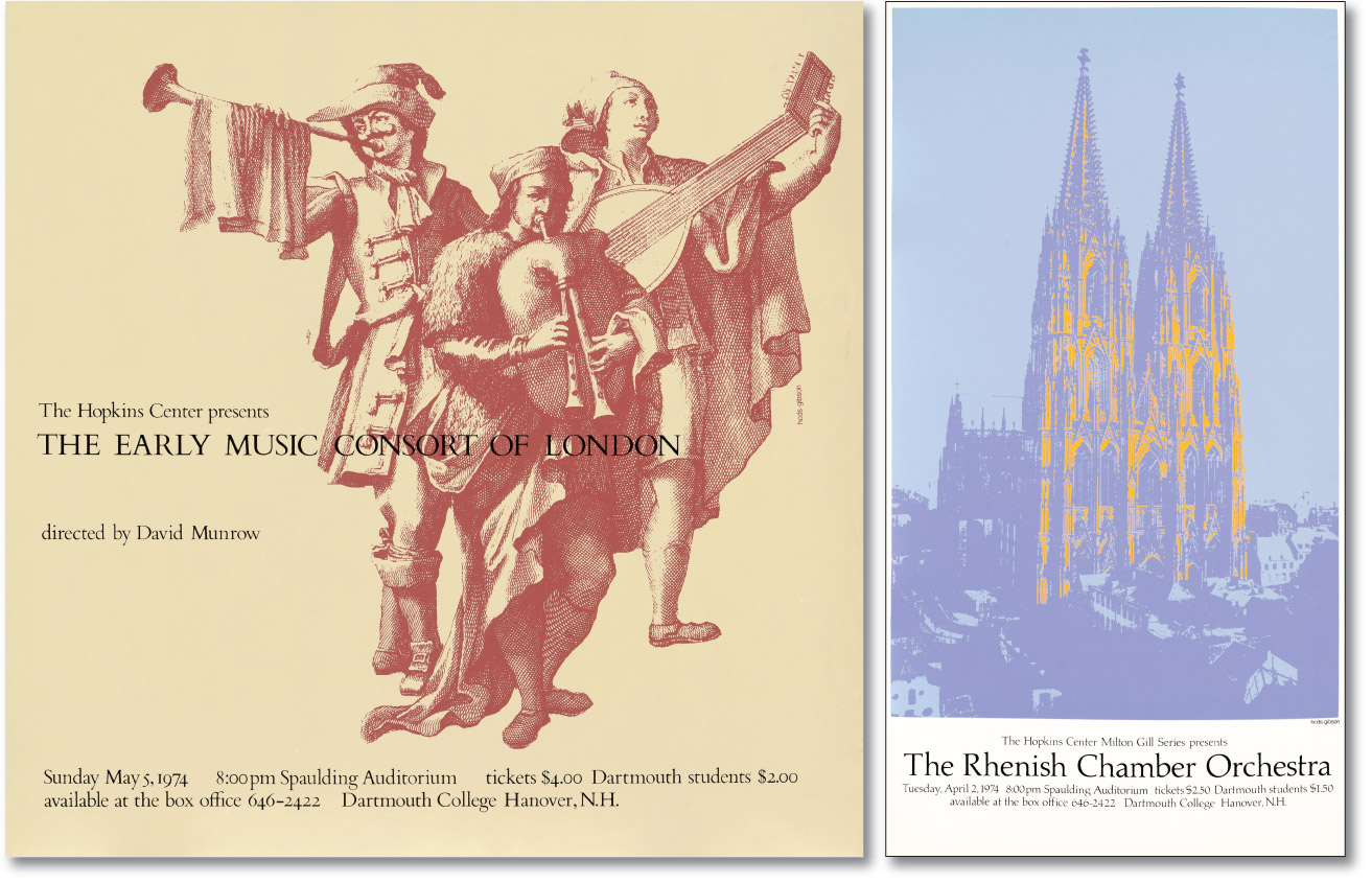 Early Music and Rhenish Chamber Posters