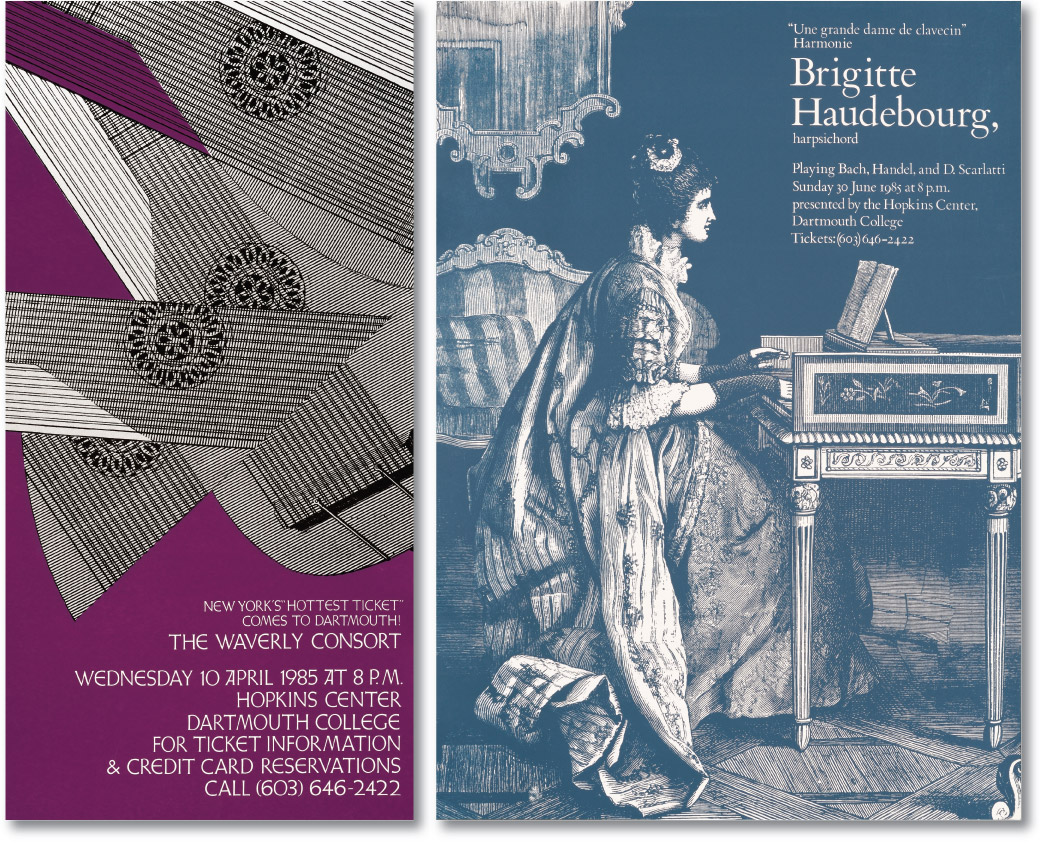 Waverly Consort and Haudebourg Posters