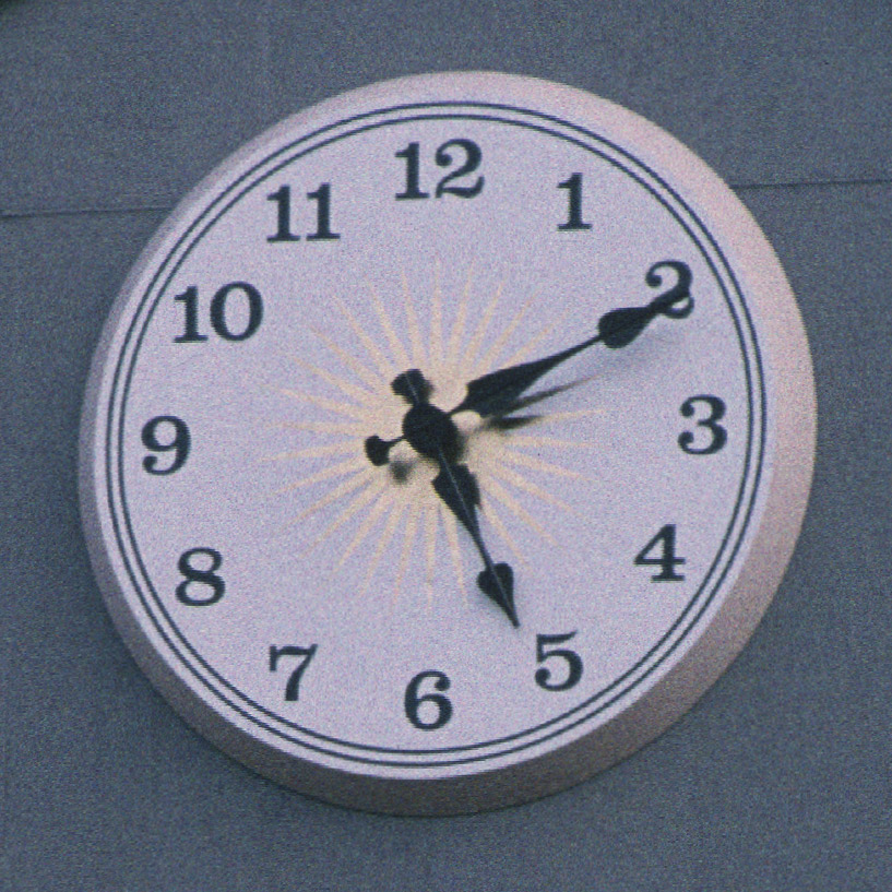 Howe Library Architectural Clock Face