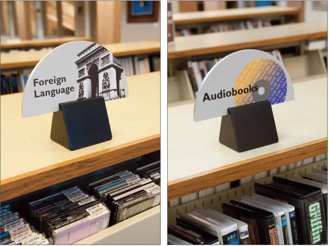 Movable Signs for Media Collections