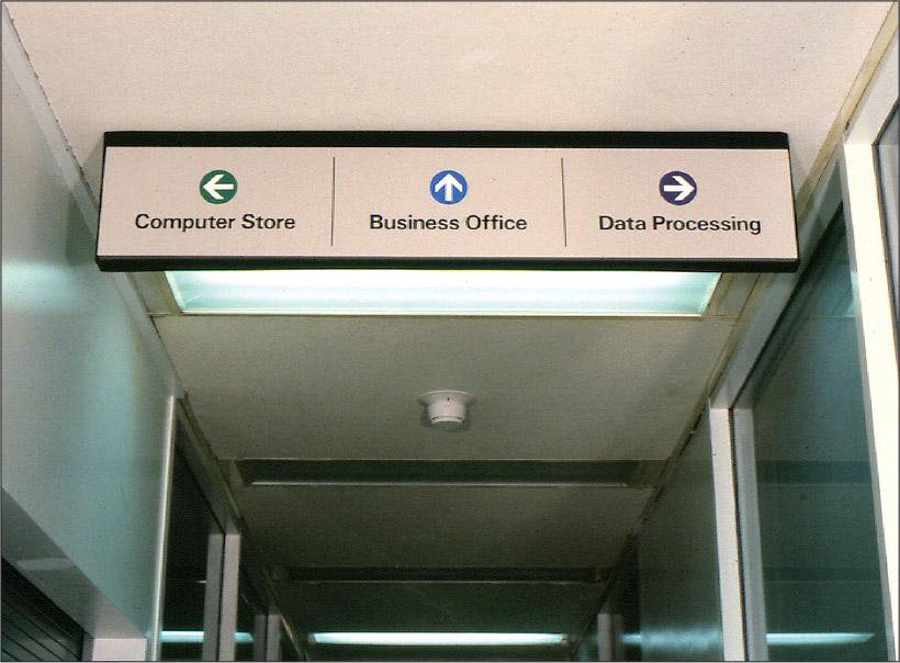Kiewit Computation Center Lobby Kiosk and Sign System