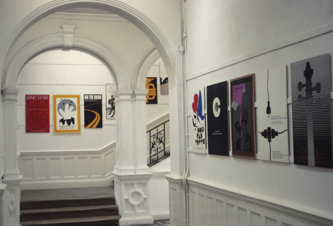 An Exhibition of Graphic Design by Charles Gibson from the Hopkins Center and the Hood Museum of Art, Dartmouth College